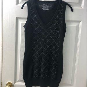 Talula sleeveless sweater dress/long top